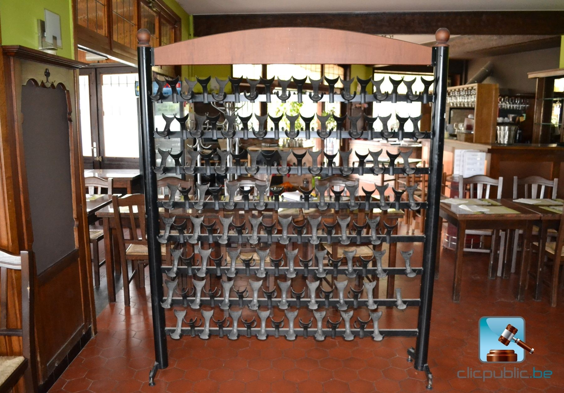 support pour bouteilles de vin georgagis ref 5 vendre. Black Bedroom Furniture Sets. Home Design Ideas