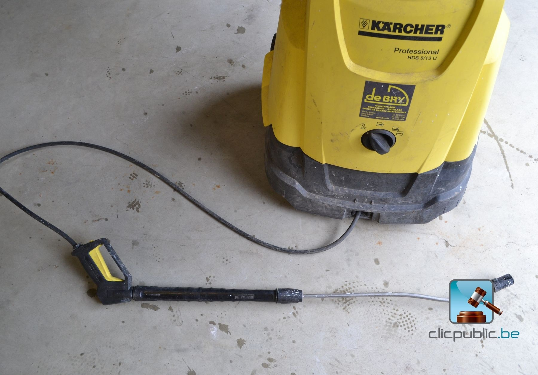 Nettoyeur haute pression karcher hds 5 13u ref 5 for Fonctionnement nettoyeur haute pression