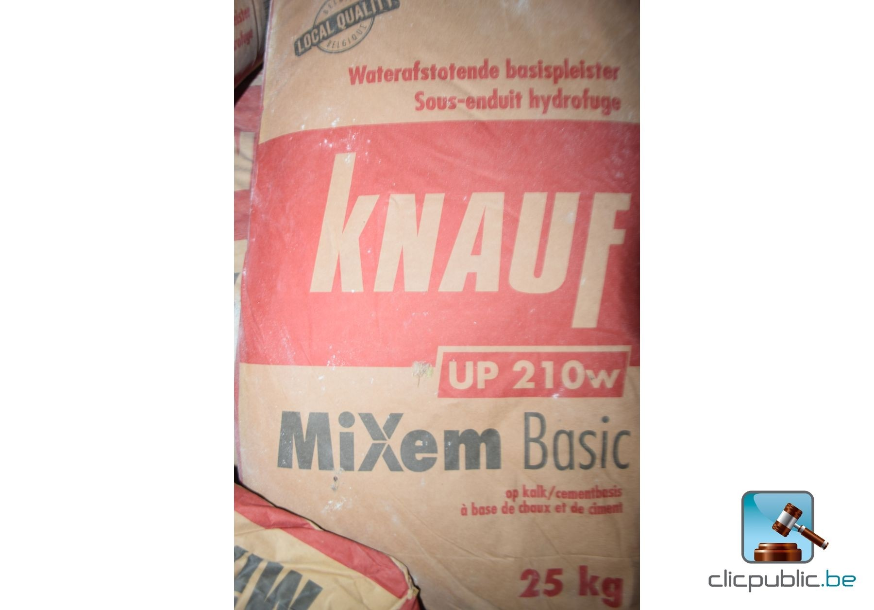 Sacs de ciment et de chaux knauf mixen basic ref 16 - Sac de chaux ...