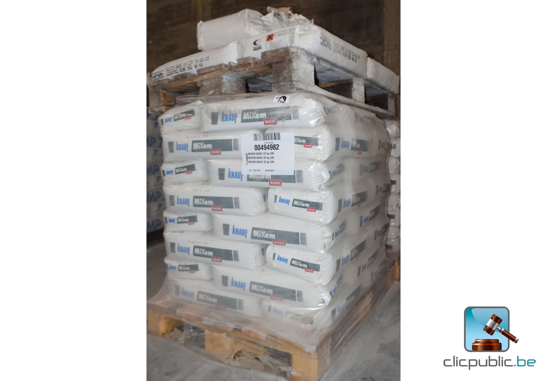 Sacs de ciment et de chaux knauf mixen basic ref 19 - Sac de chaux ...