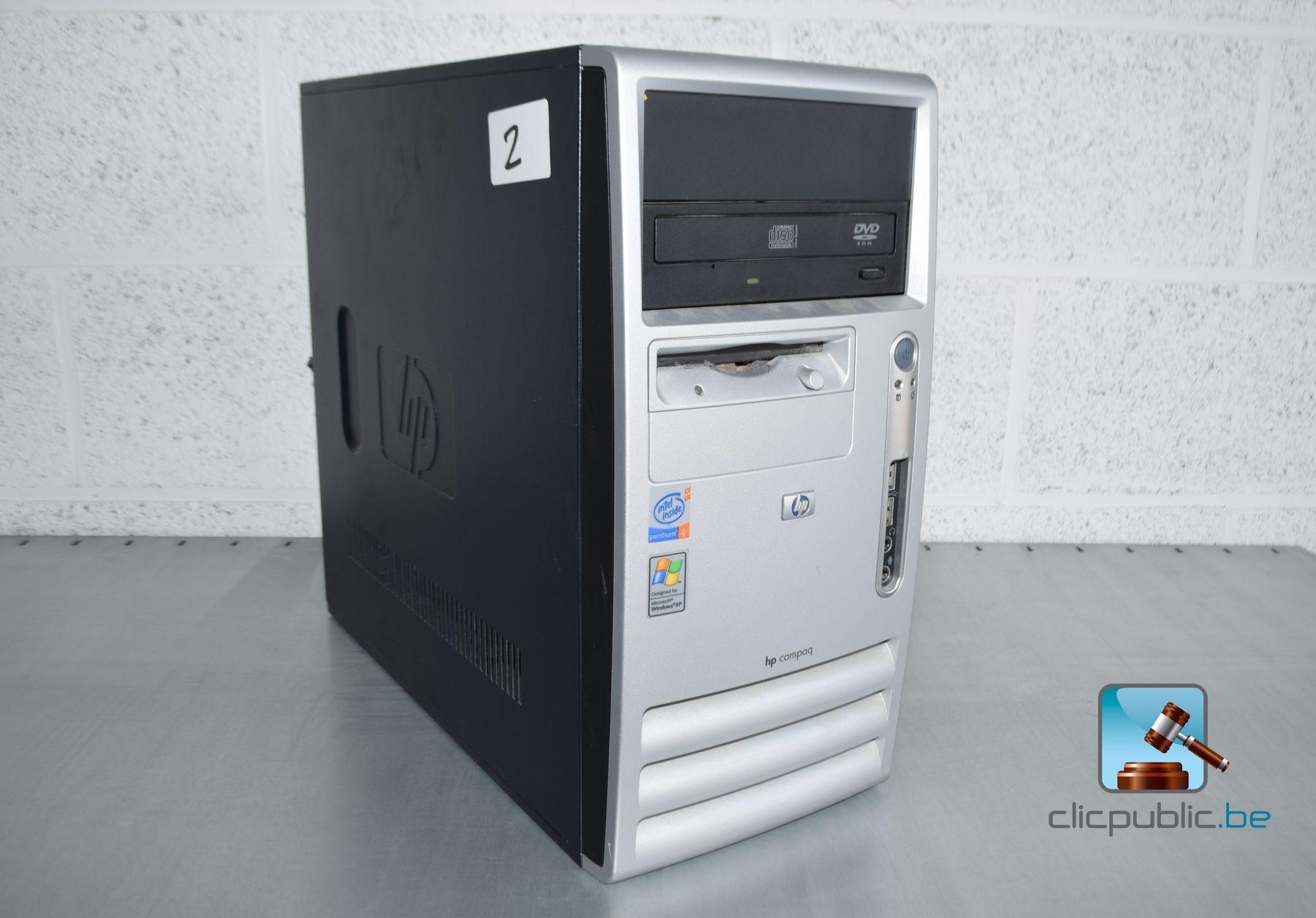 ordinateur de bureau hp compaq d330 u f p2 ref 2 vendre sur. Black Bedroom Furniture Sets. Home Design Ideas
