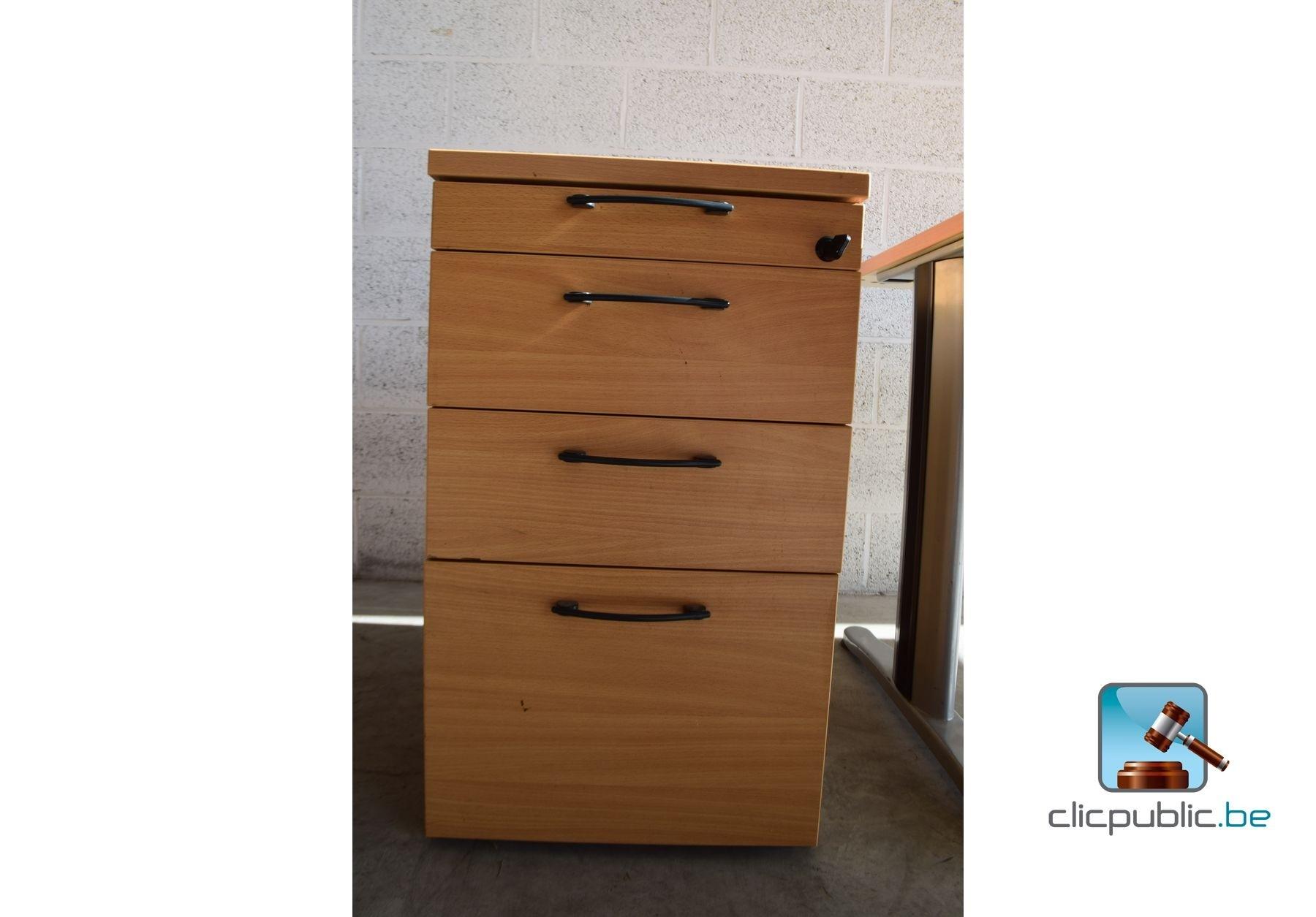 mobilier de bureau bureau bloc tiroirs et chaise de. Black Bedroom Furniture Sets. Home Design Ideas