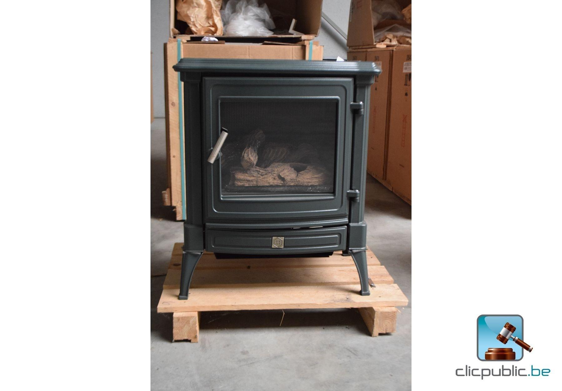 po le au gaz efel stanford 8 gn olive vendre sur. Black Bedroom Furniture Sets. Home Design Ideas