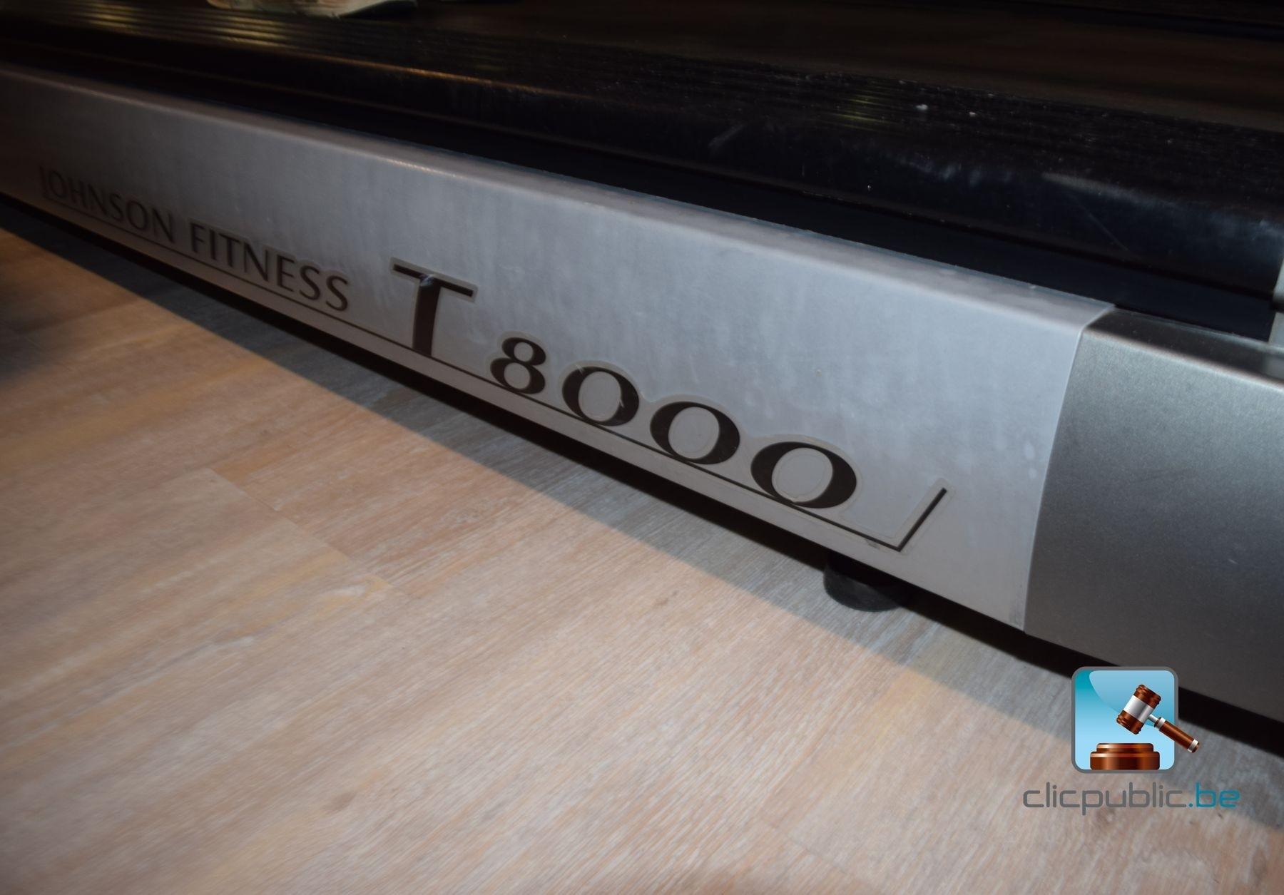 Tapis de course jonhson t8000 ref 5 vendre sur - Tapis de course destockage ...