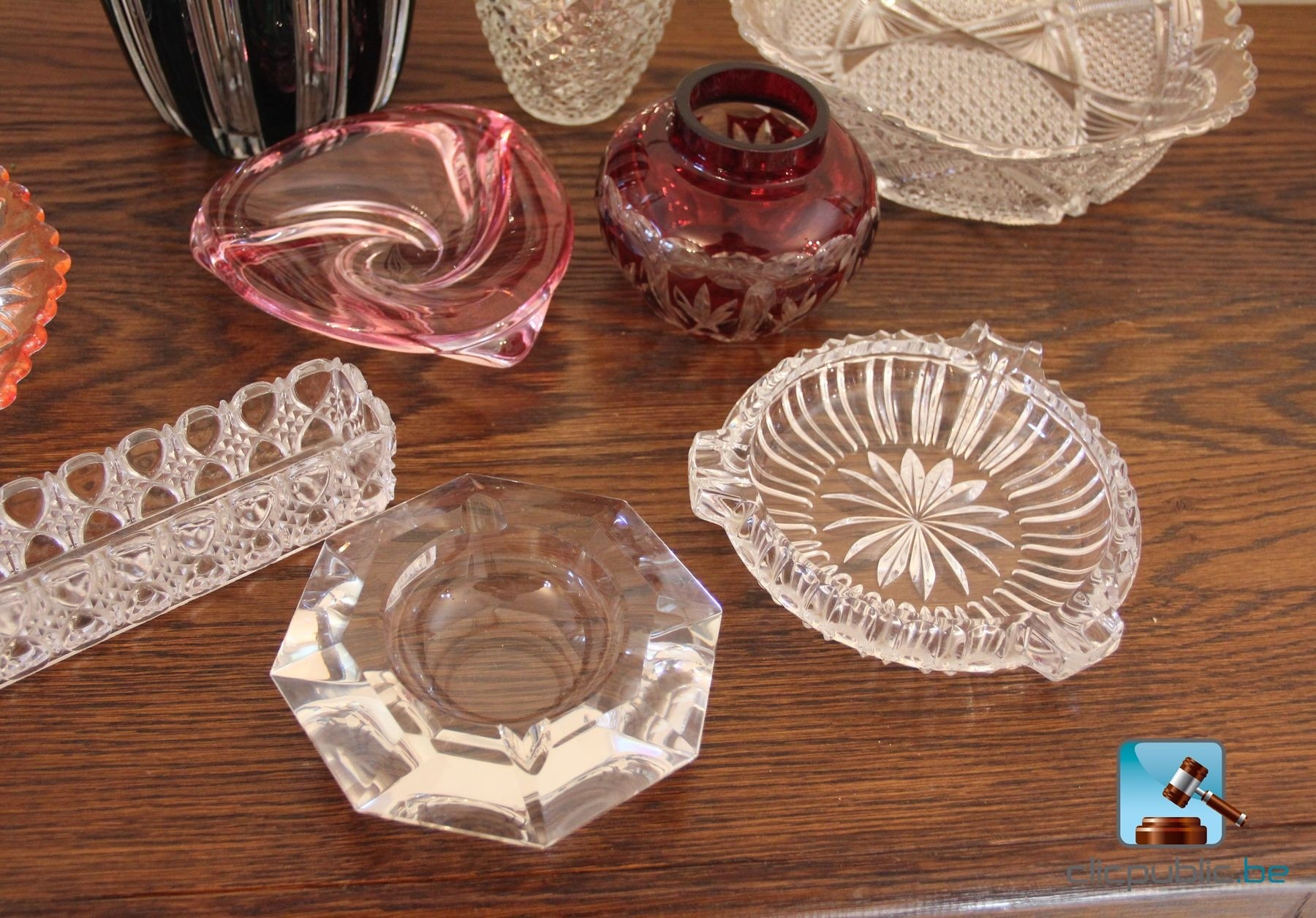 Objets d coratifs verre et cristal dont val saint for Objets decoratifs