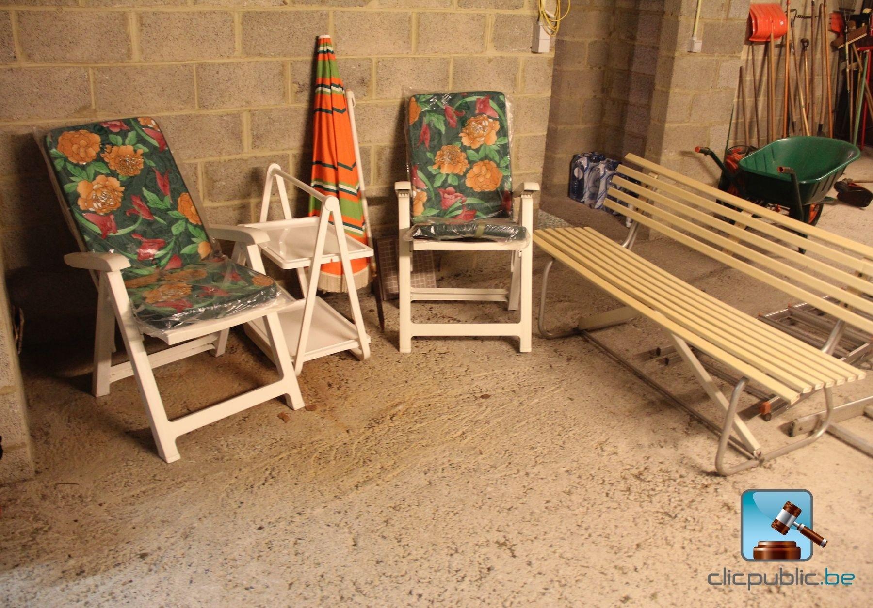 mobilier d 39 ext rieur ref 62 vendre sur. Black Bedroom Furniture Sets. Home Design Ideas