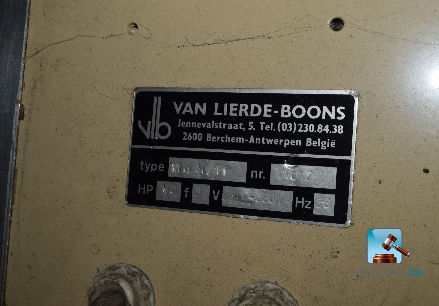 Machine couper le pain van lierde boons ref 2 vendre sur - Machine a couper le pain occasion ...