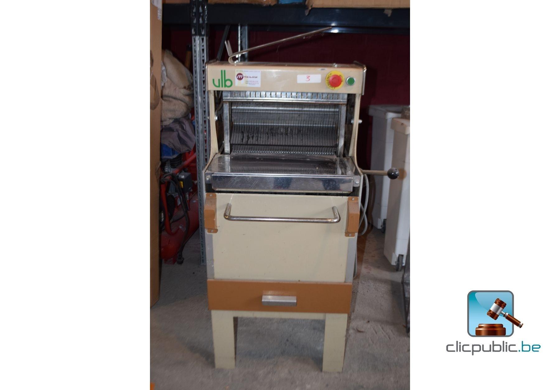 Machine couper le pain van lierde boons ref 3 vendre sur - Machine a couper le pain occasion ...