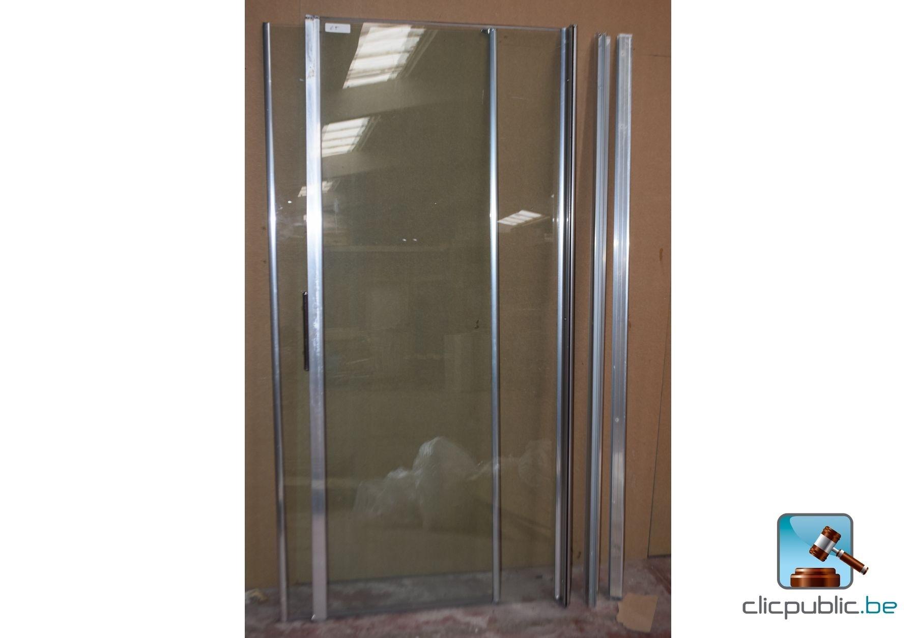 Sanitaire parois vitr es de douche ref 65 vendre sur - Paroi de douche vitree ...
