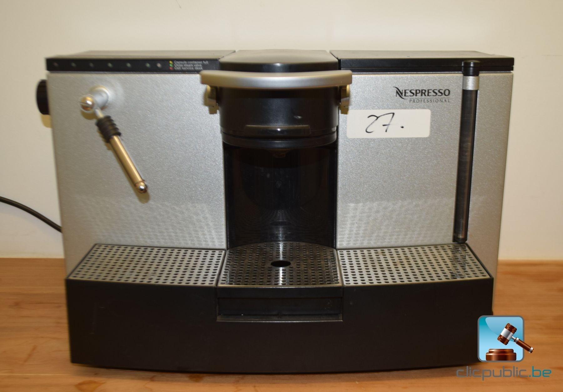 Nespresso Tassen Te Koop : Machine ? expresso nespresso professional ref