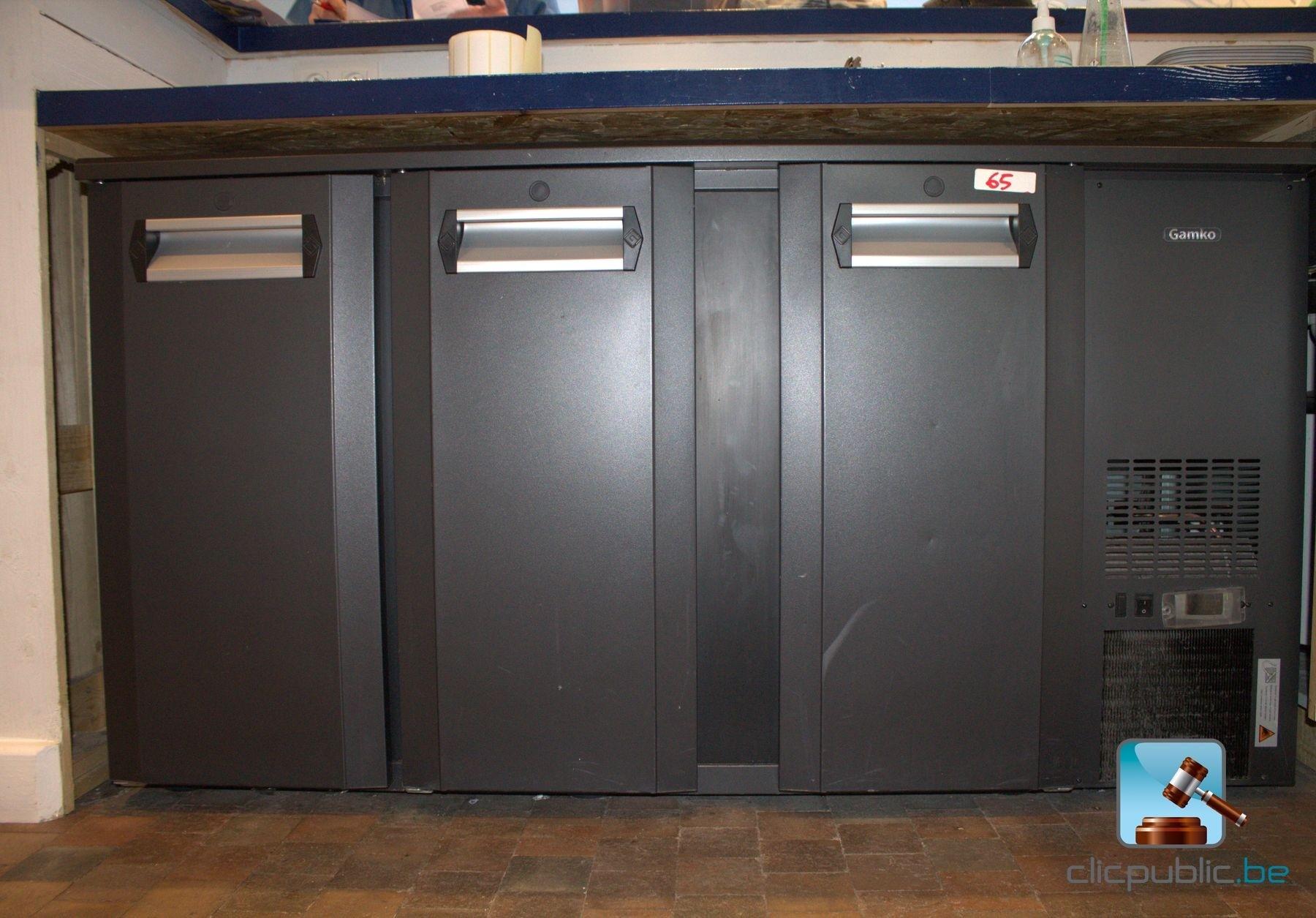 frigo bar 3 portes gamko ref 65 vendre sur. Black Bedroom Furniture Sets. Home Design Ideas
