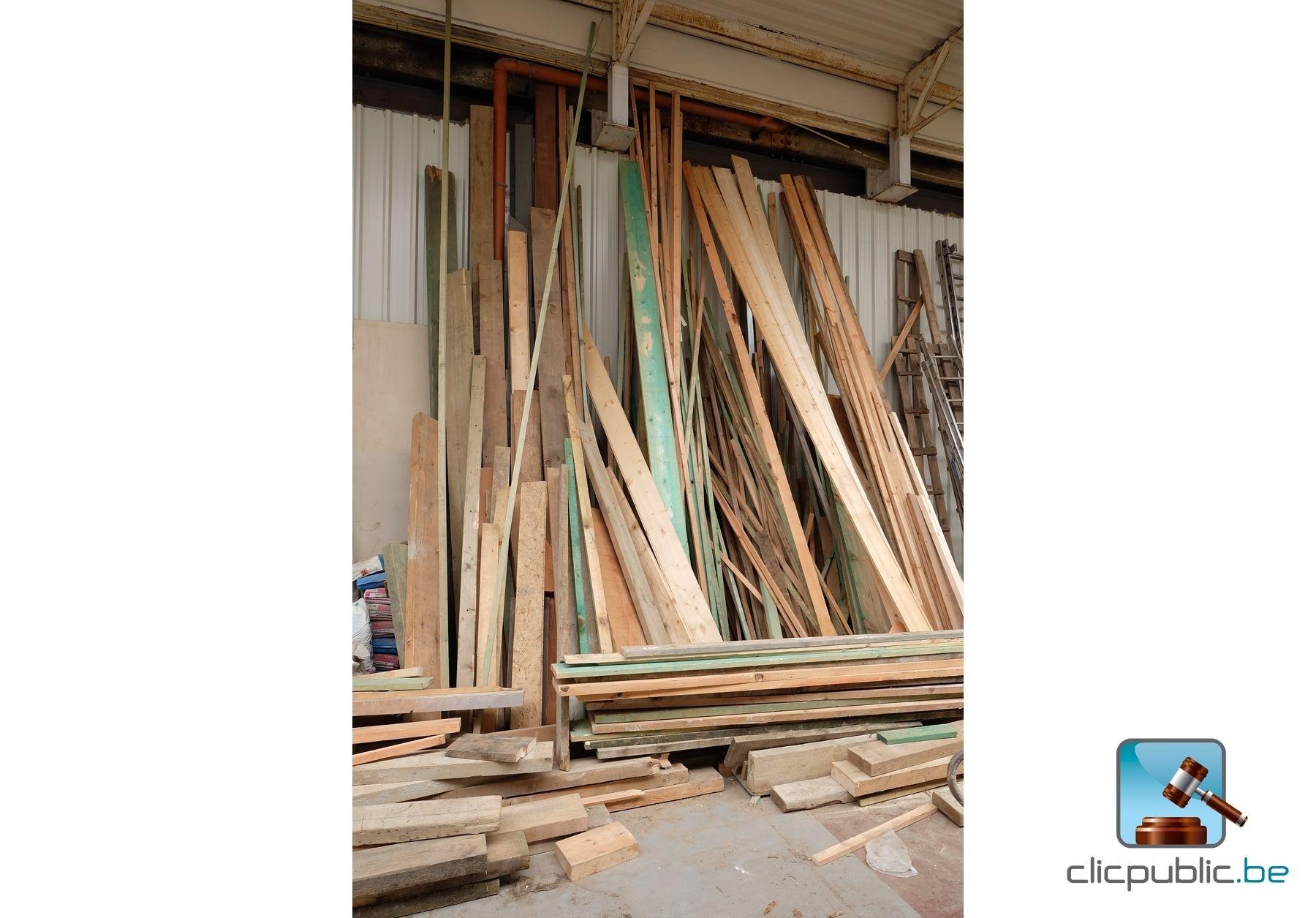 Vente Bois Menuiserie - Bois de charpente (ref 47)à vendre sur clicpublic be