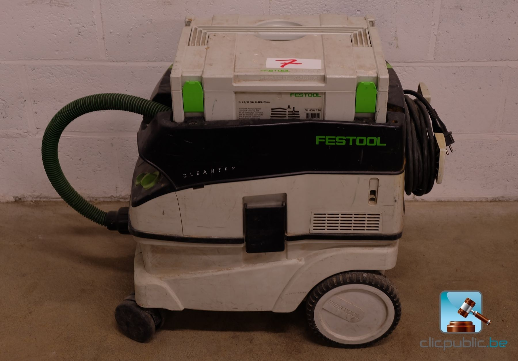 aspirateur de chantier festool ctl 26e ref 7 vendre. Black Bedroom Furniture Sets. Home Design Ideas