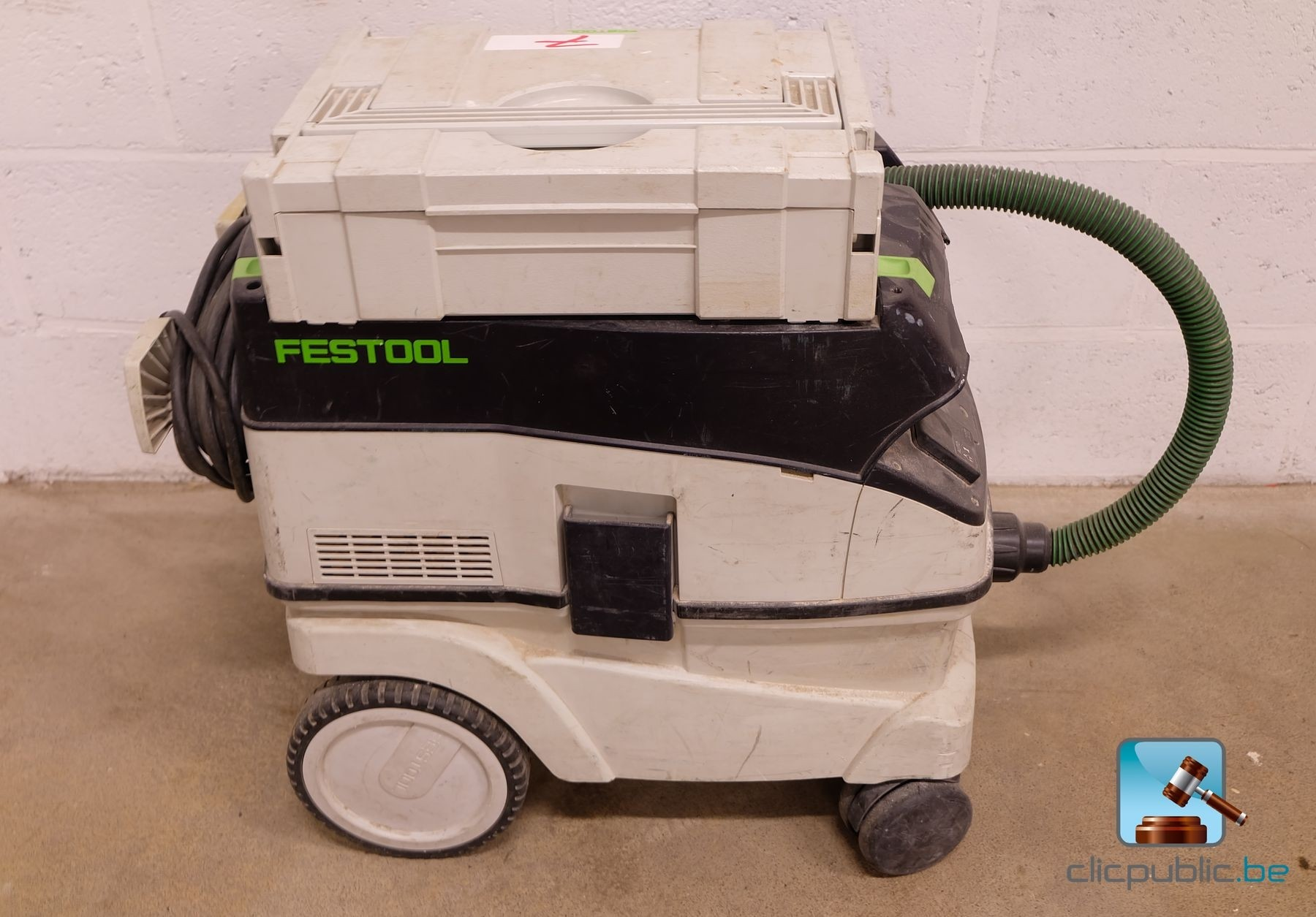 aspirateur de chantier festool ctl 26e ref 7 vendre sur. Black Bedroom Furniture Sets. Home Design Ideas