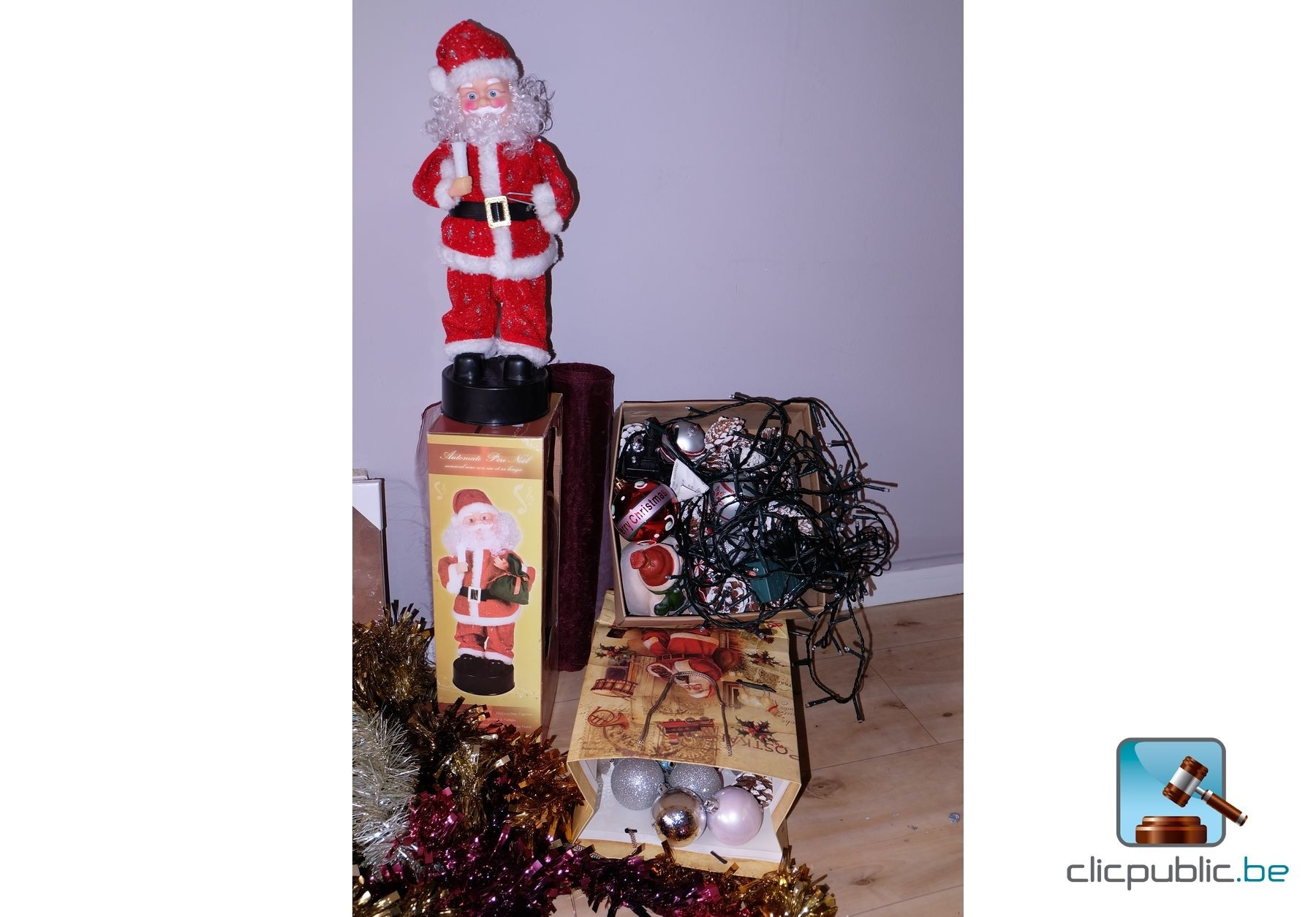#B41727 Décorations De Noël (ref. 6) à Vendre Sur Clicpublic.be 5319 decorations de noel a vendre 1800x1255 px @ aertt.com