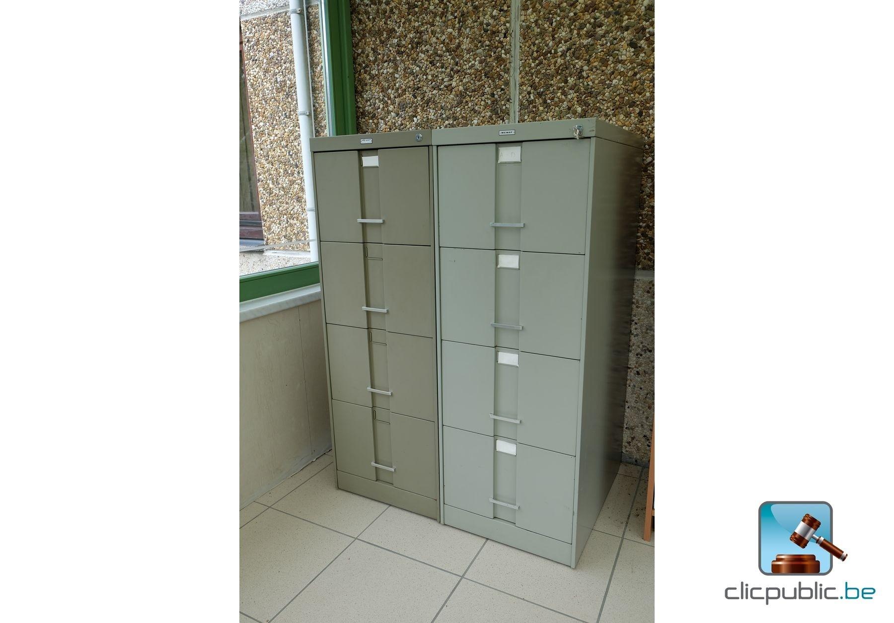 4 meubles tiroirs m talliques ref 38 vendre sur for Meuble metallique a tiroir