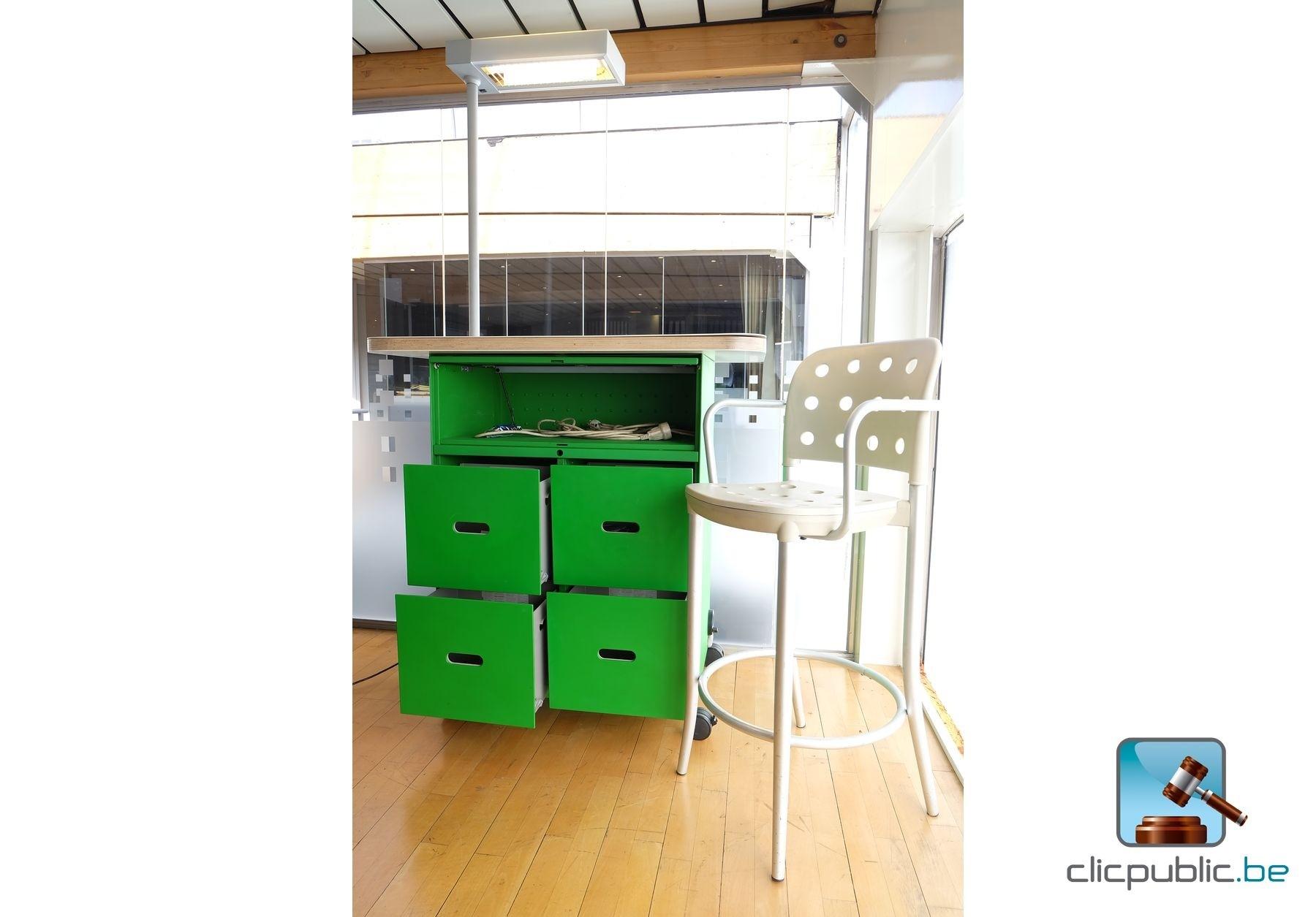 Meuble desk d 39 exposition ref 101 vendre sur for Meuble d exposition