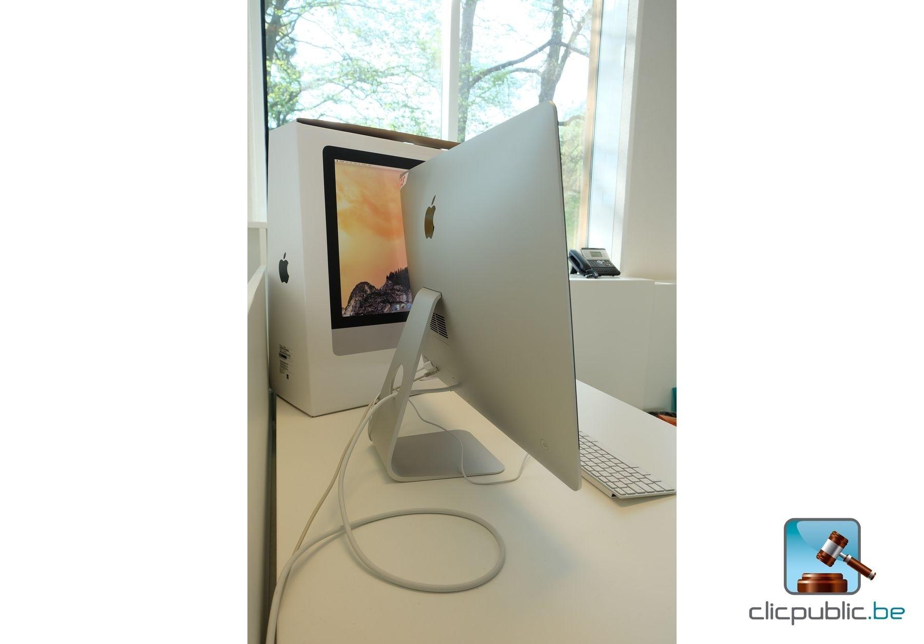 ordinateur de bureau apple imac 27 224 vendre sur clicpublic be