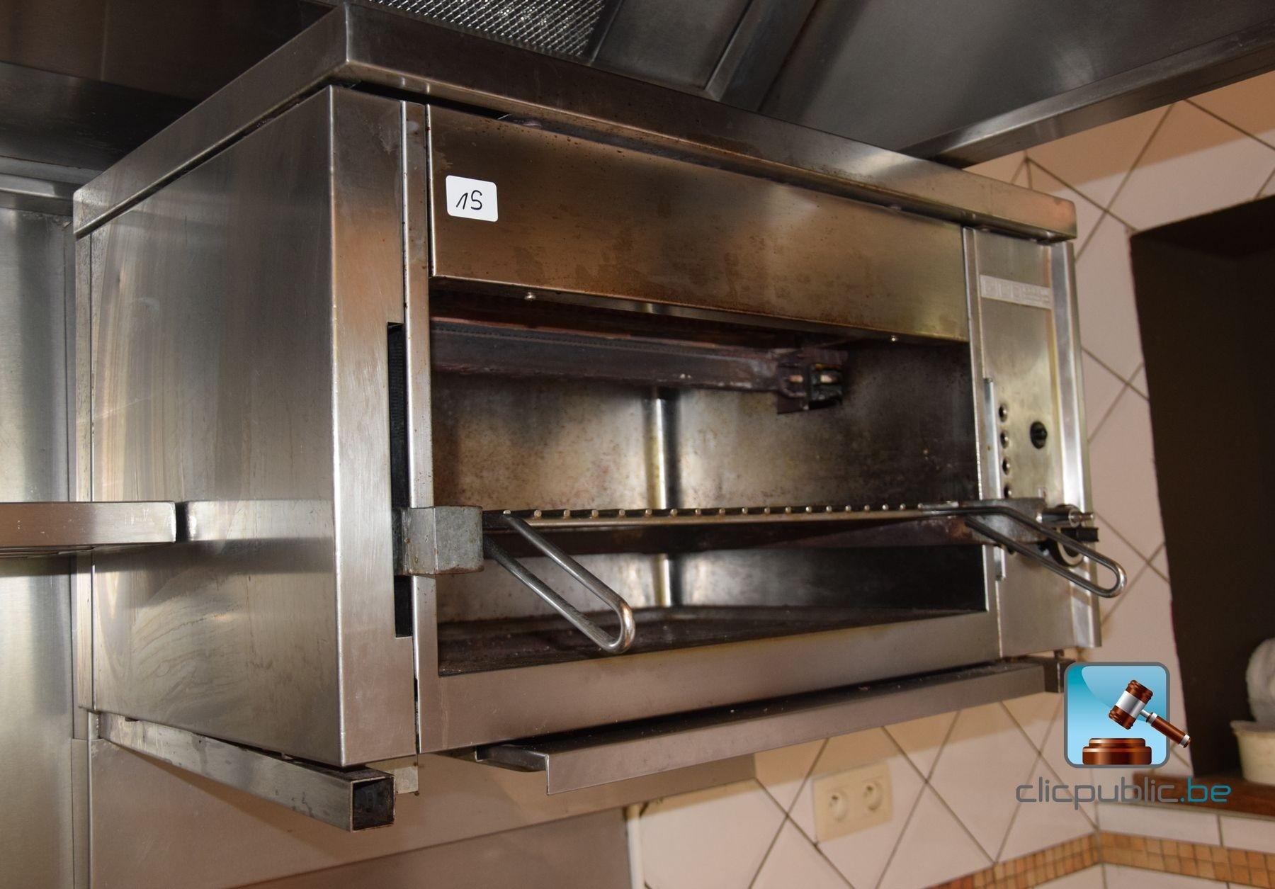 Salamandre de cuisine gigo collin au gaz ref 15 - Salamandre cuisine occasion ...