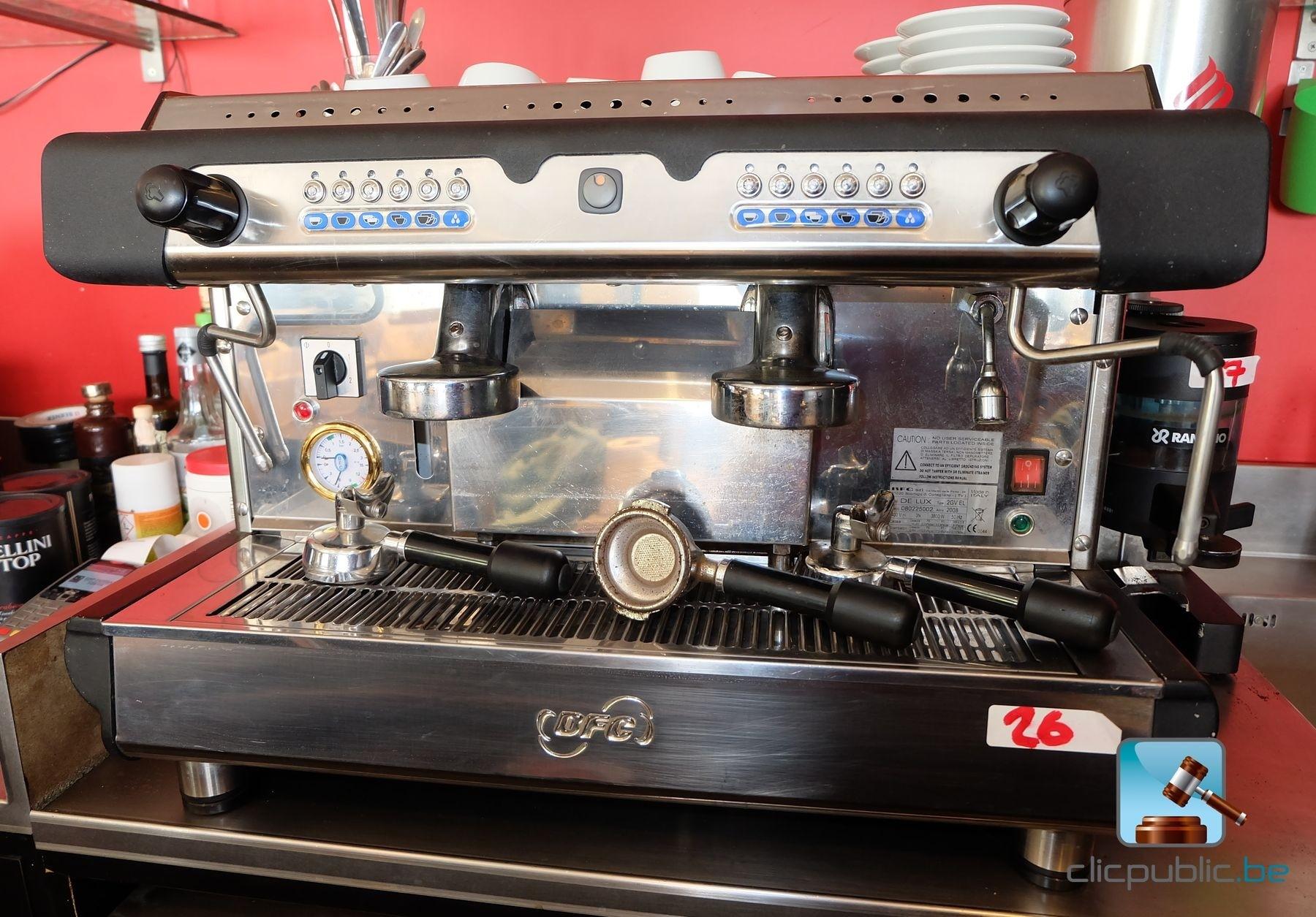 machine caf professionnelle bcf de lux 2gvel ref 26. Black Bedroom Furniture Sets. Home Design Ideas