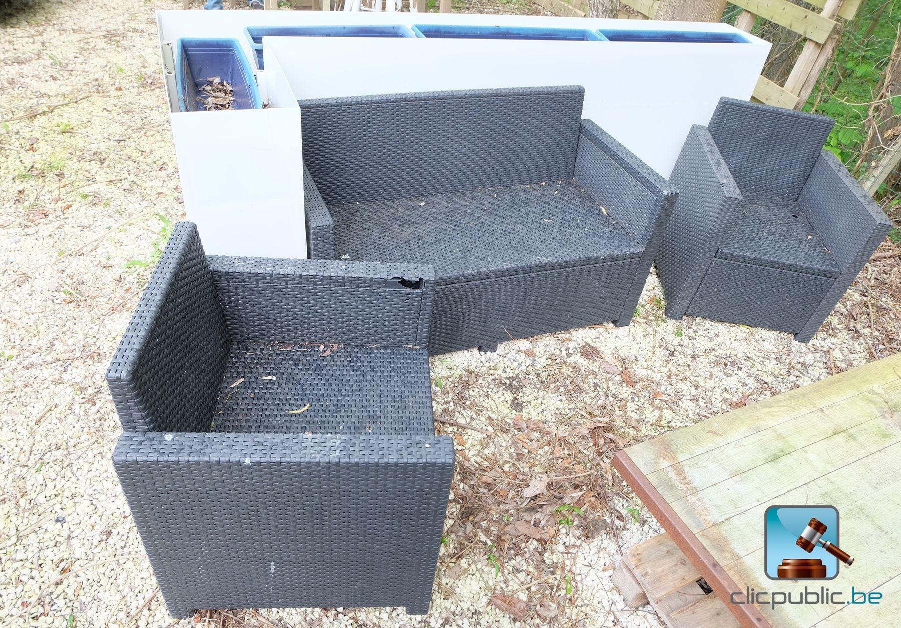 Mobilier de terrasse ref 52 vendre sur for Mobilier de terrasse