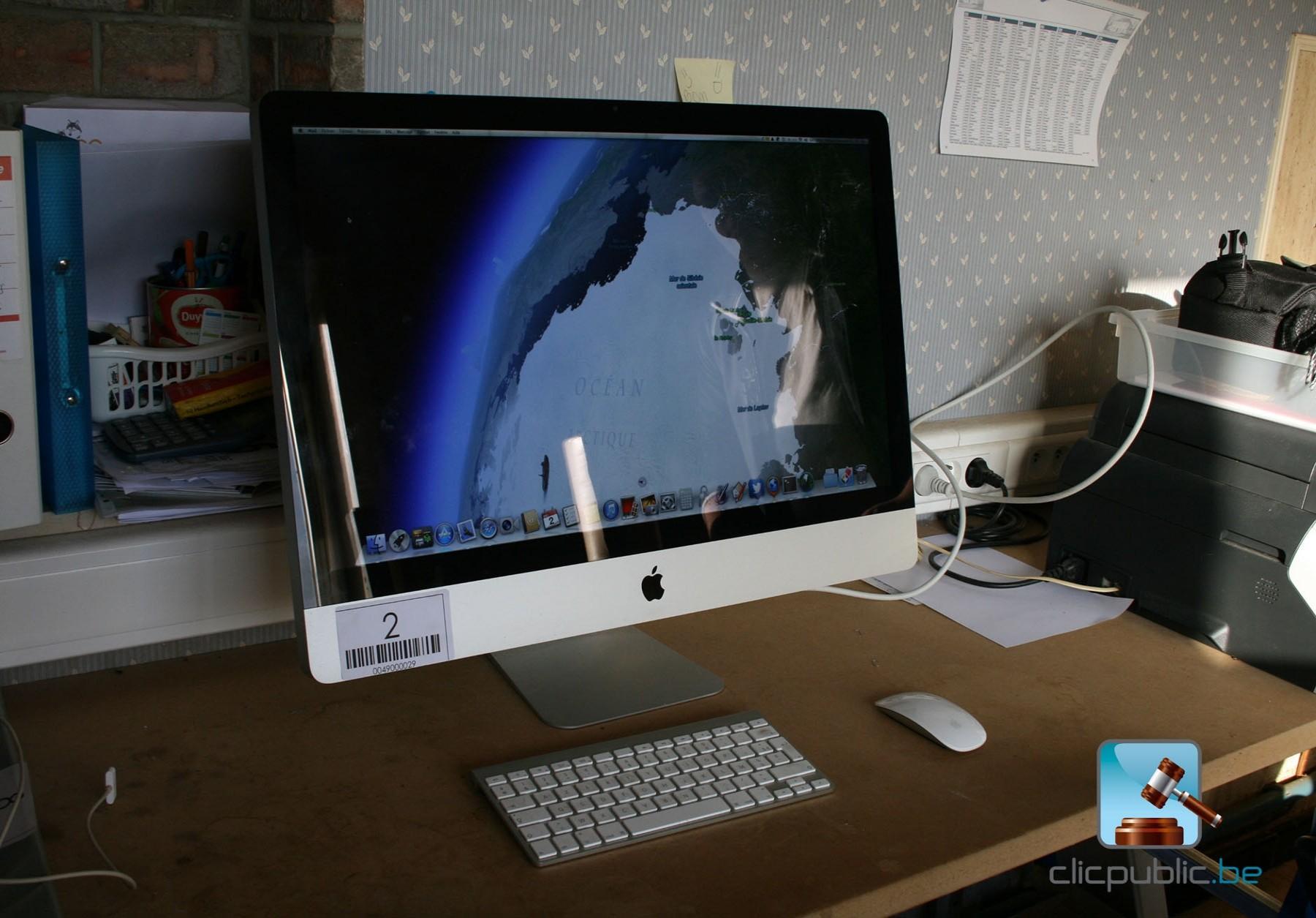 product ordinateur apple imac  pouces