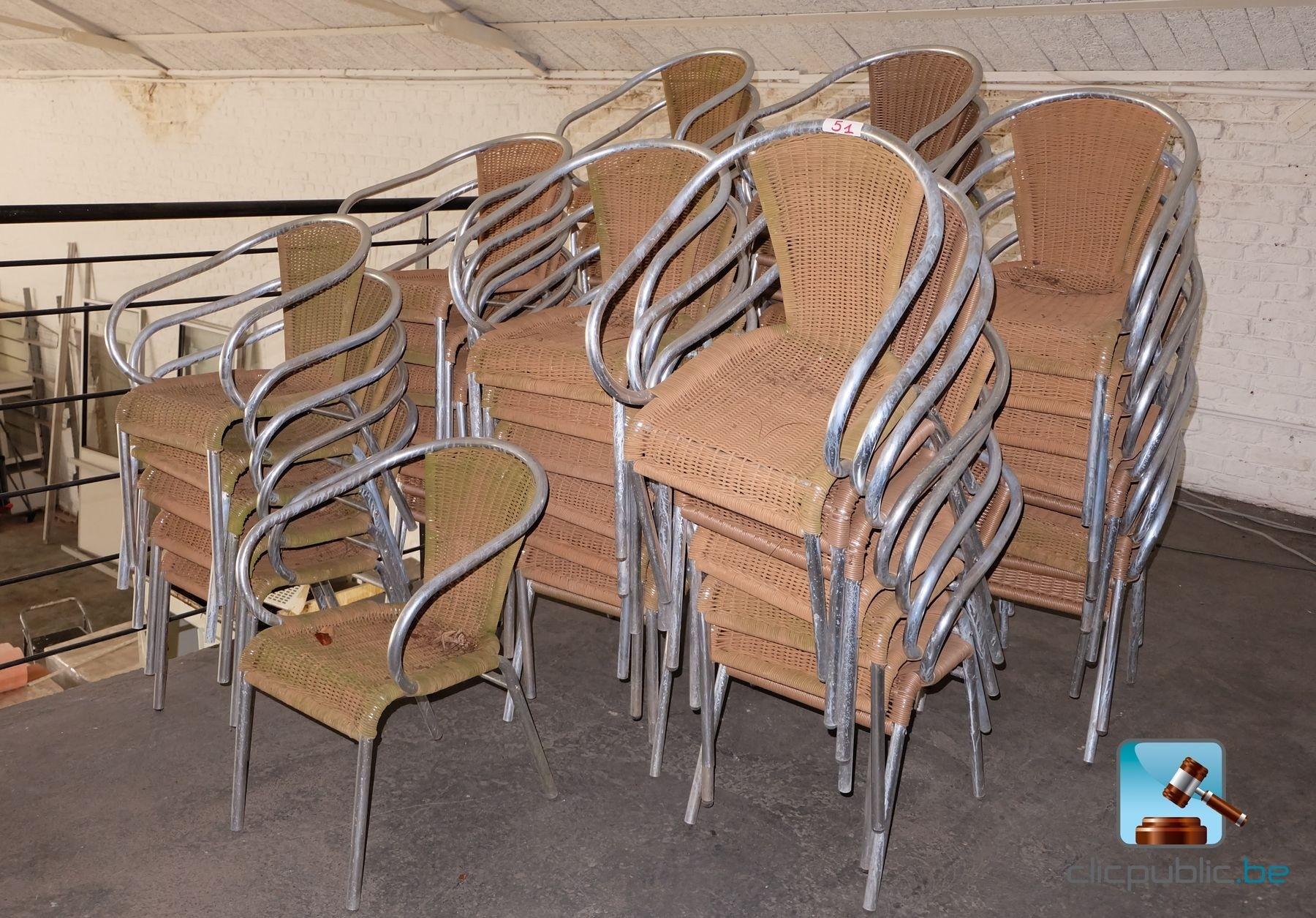Mobilier De Terrasse 53 Fauteuils Ref 51 Vendre Sur