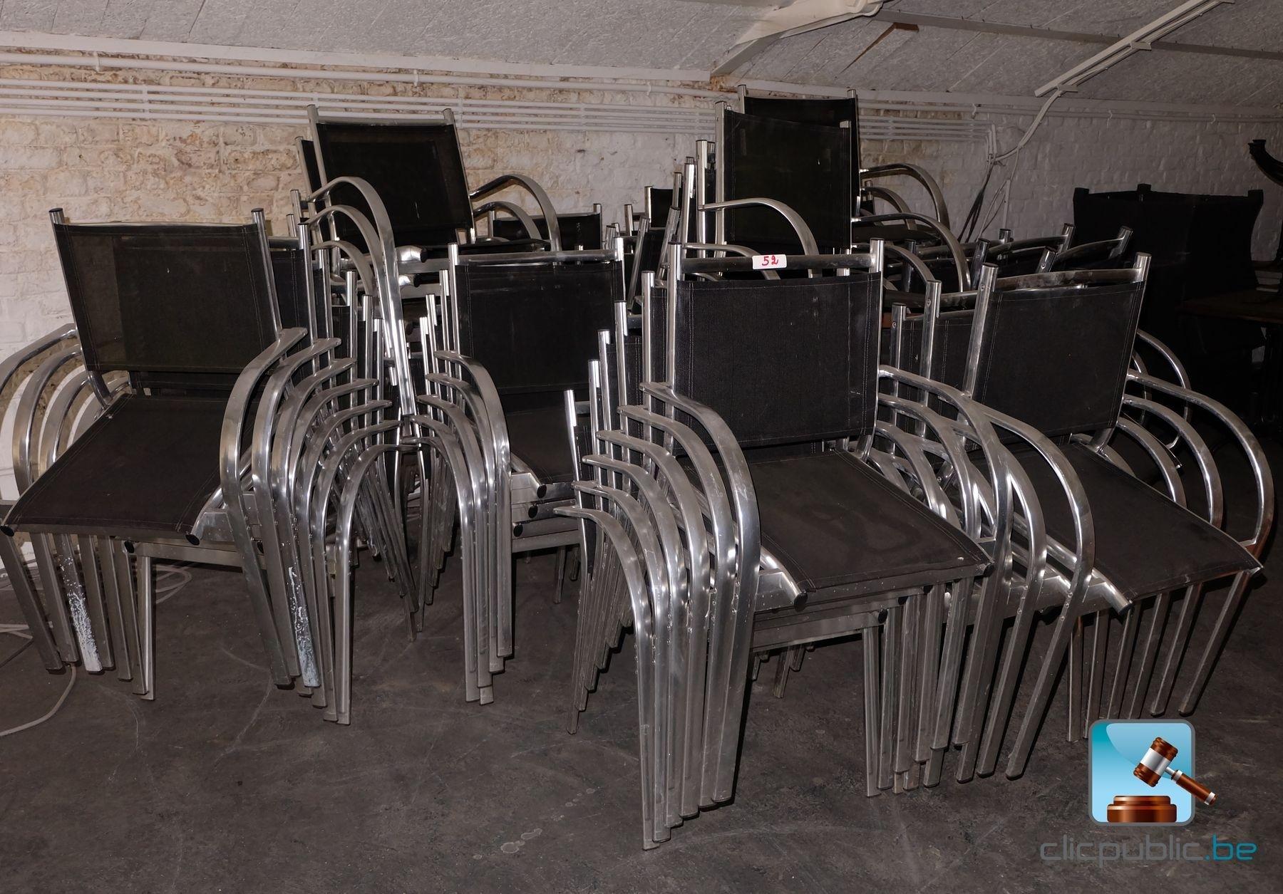 Mobilier de terrasse 75 fauteuils ref 52 vendre sur for Mobilier de terrasse