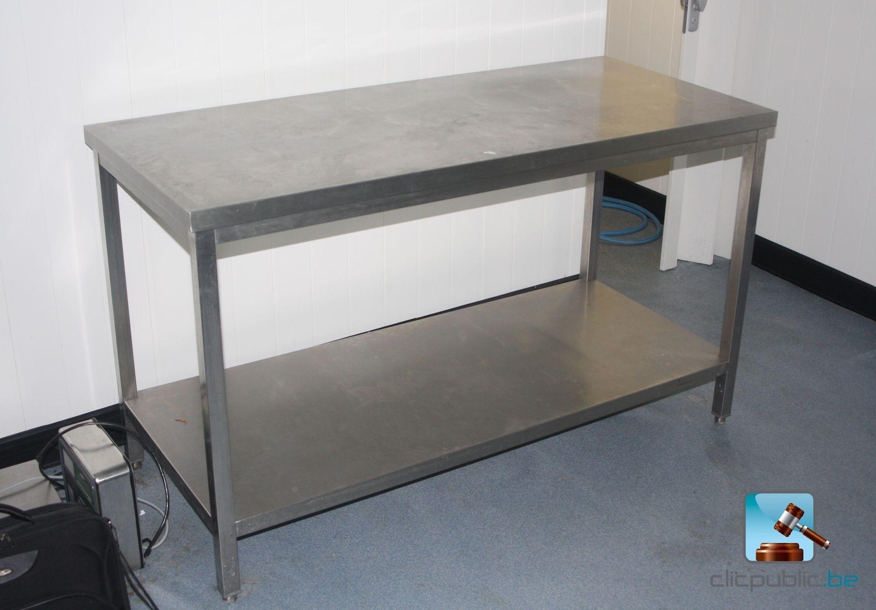 table inox occasion belgique. Black Bedroom Furniture Sets. Home Design Ideas
