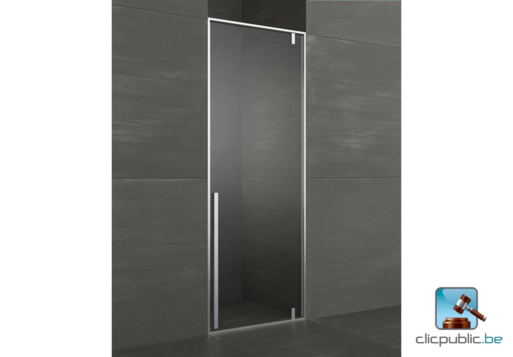 Porte battante de douche kahuri gauche vendre sur for Porte de douche battante