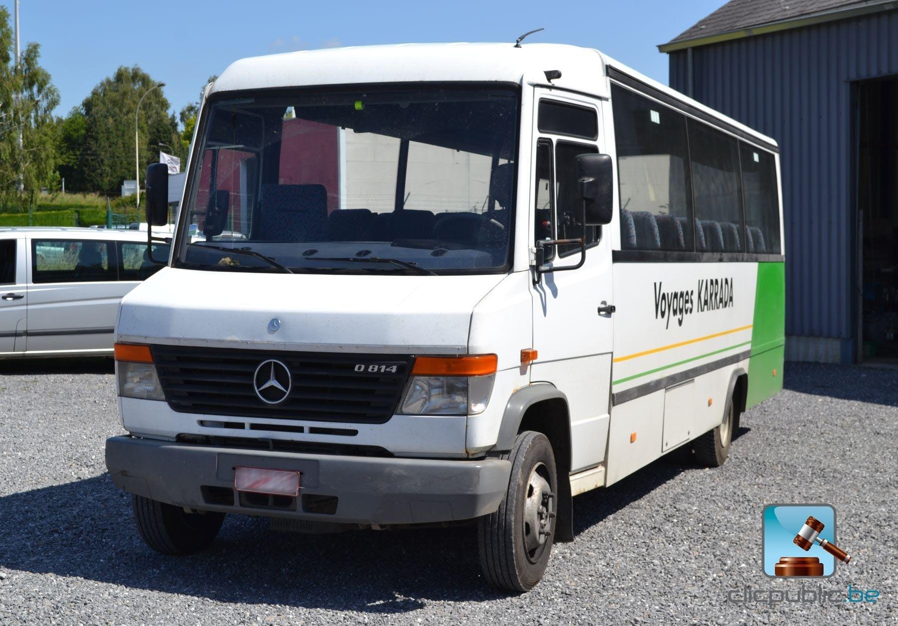 autobus autocar mercedes vario 814 2003 vendre sur. Black Bedroom Furniture Sets. Home Design Ideas