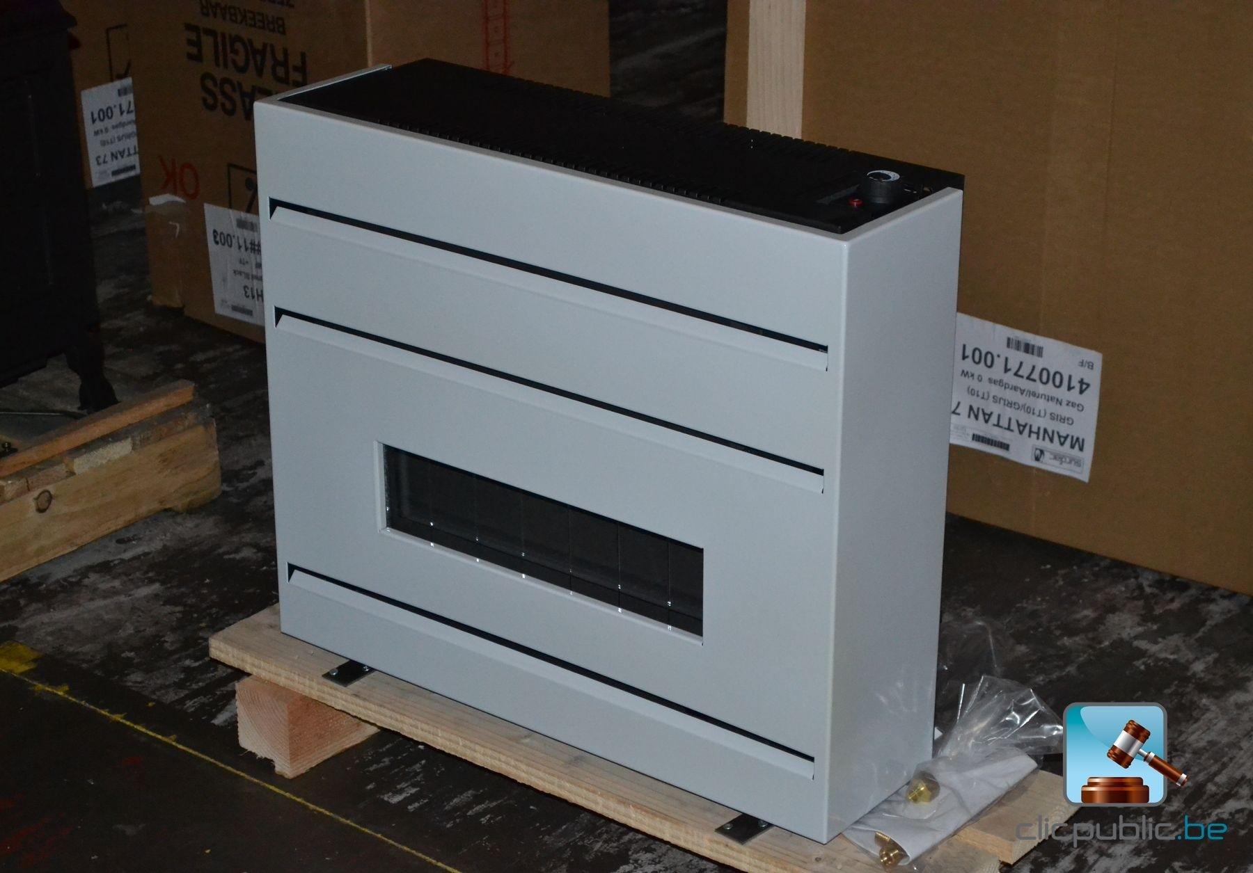 po le au gaz surdiac manhattan 7 gn gris vendre sur. Black Bedroom Furniture Sets. Home Design Ideas
