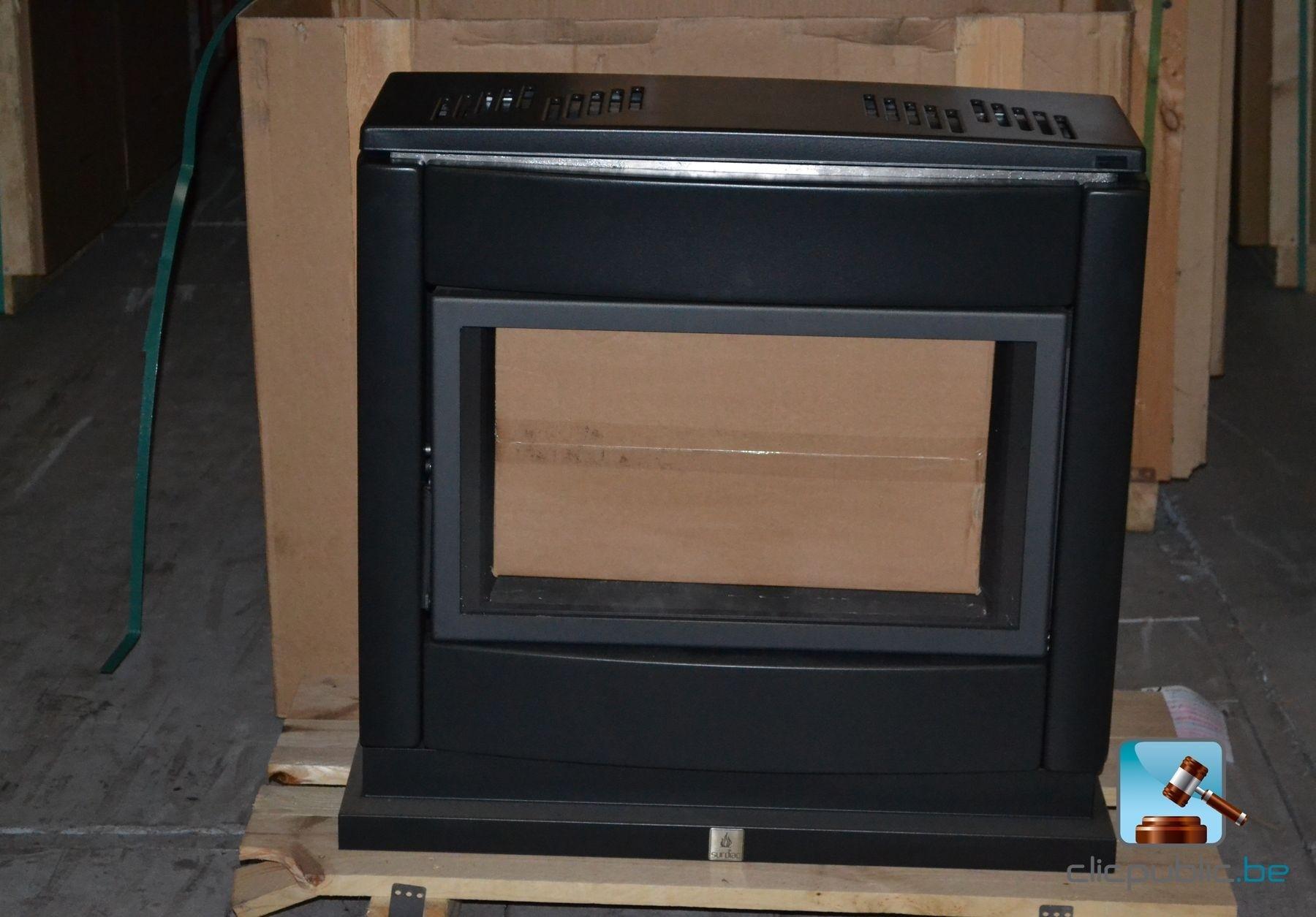 po le au gaz surdiac luxe 10 gn anthracite vendre sur. Black Bedroom Furniture Sets. Home Design Ideas