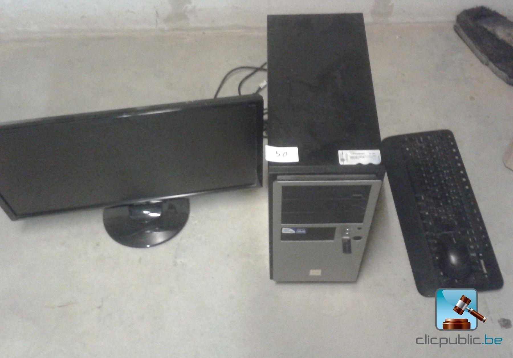 ordinateur de bureau asus fqc 04562 vendre sur. Black Bedroom Furniture Sets. Home Design Ideas