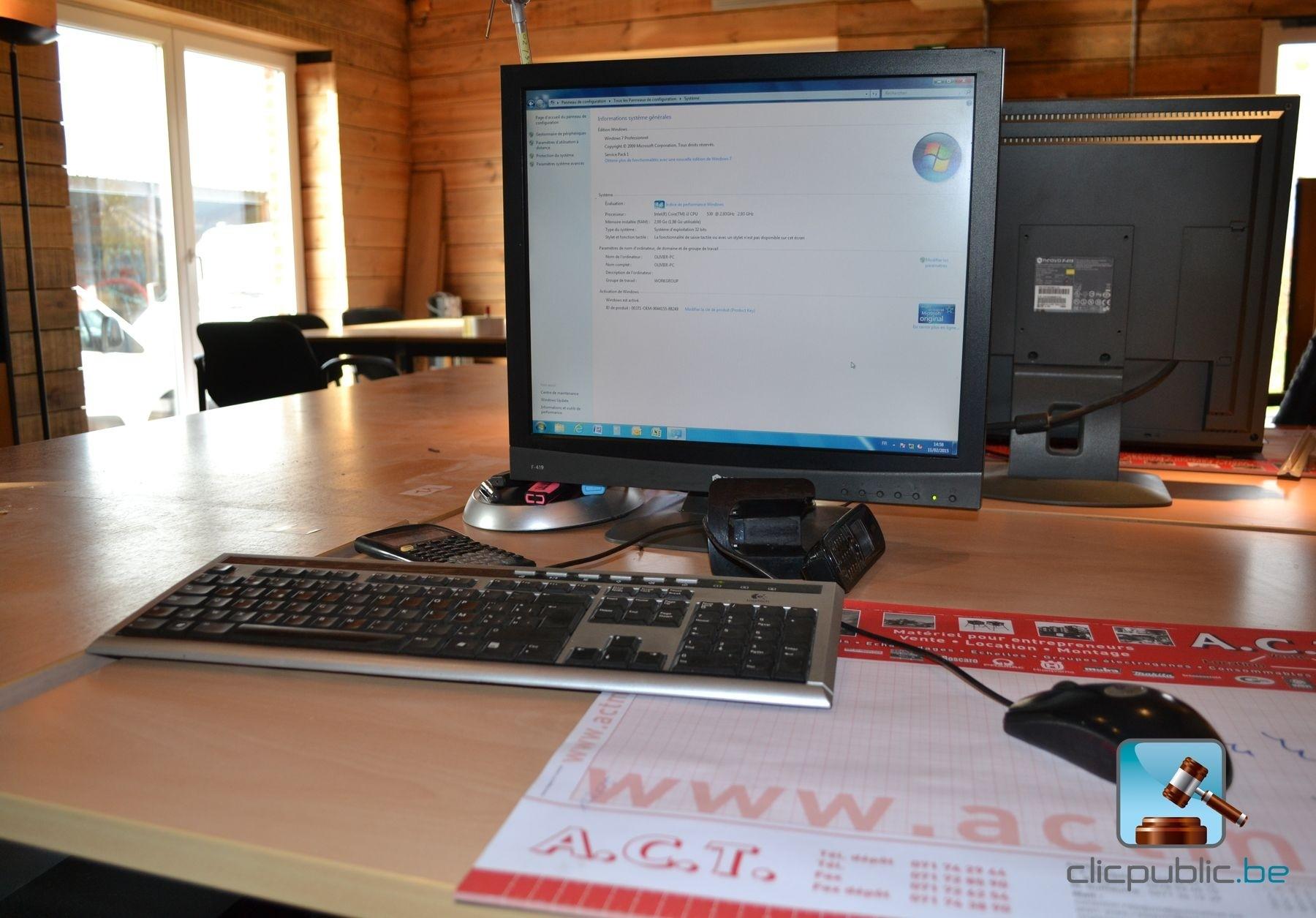 mobilier de bureau ordinateur lot 1 vendre sur