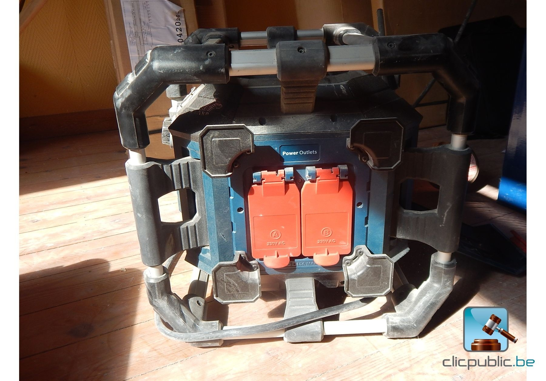 Radio de chantier bosch gml 20 power box professional - Radio de chantier bosch ...