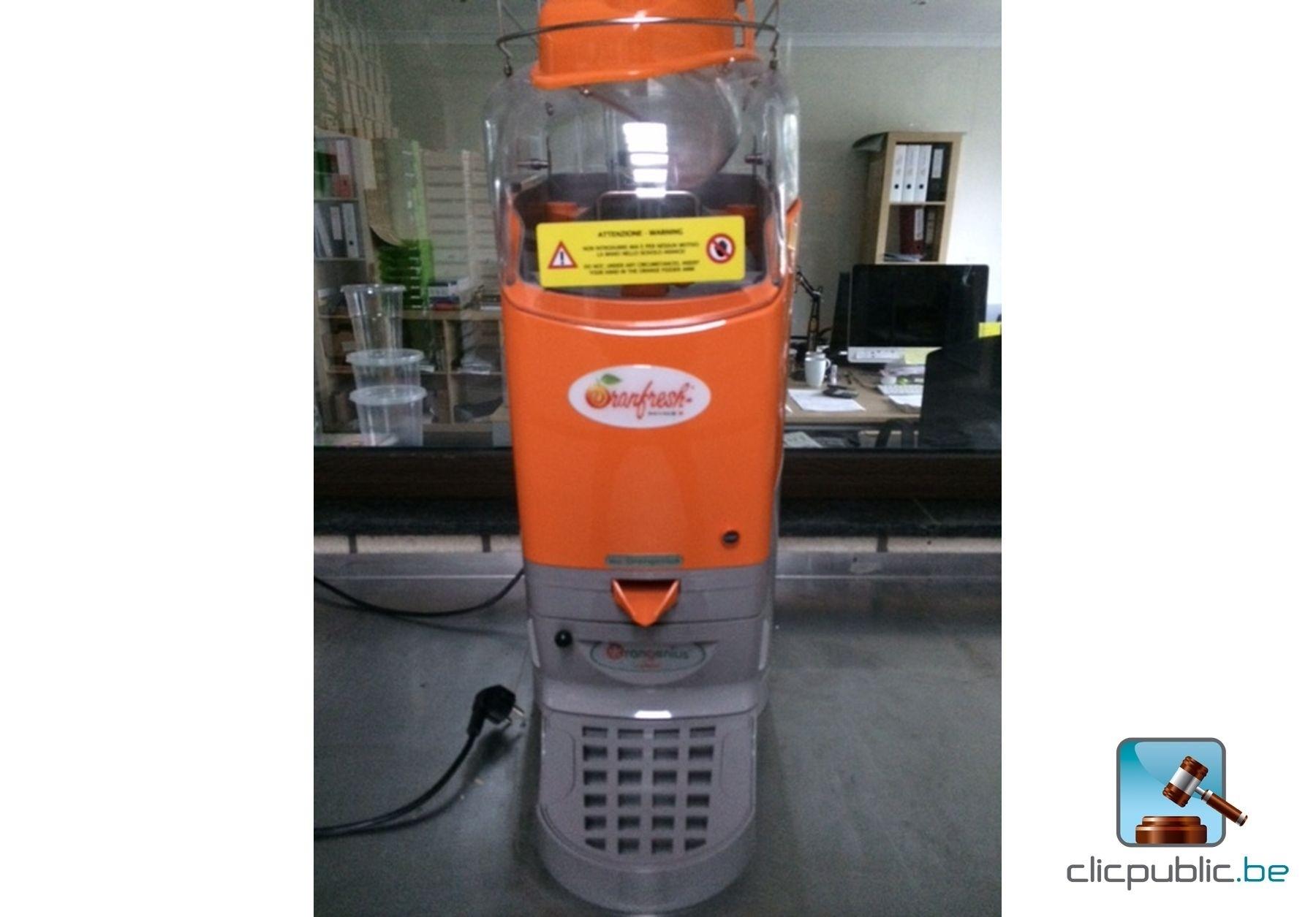 Presse agrumes professionnel oranfresh orangenius vendre sur for Presse agrume professionnel