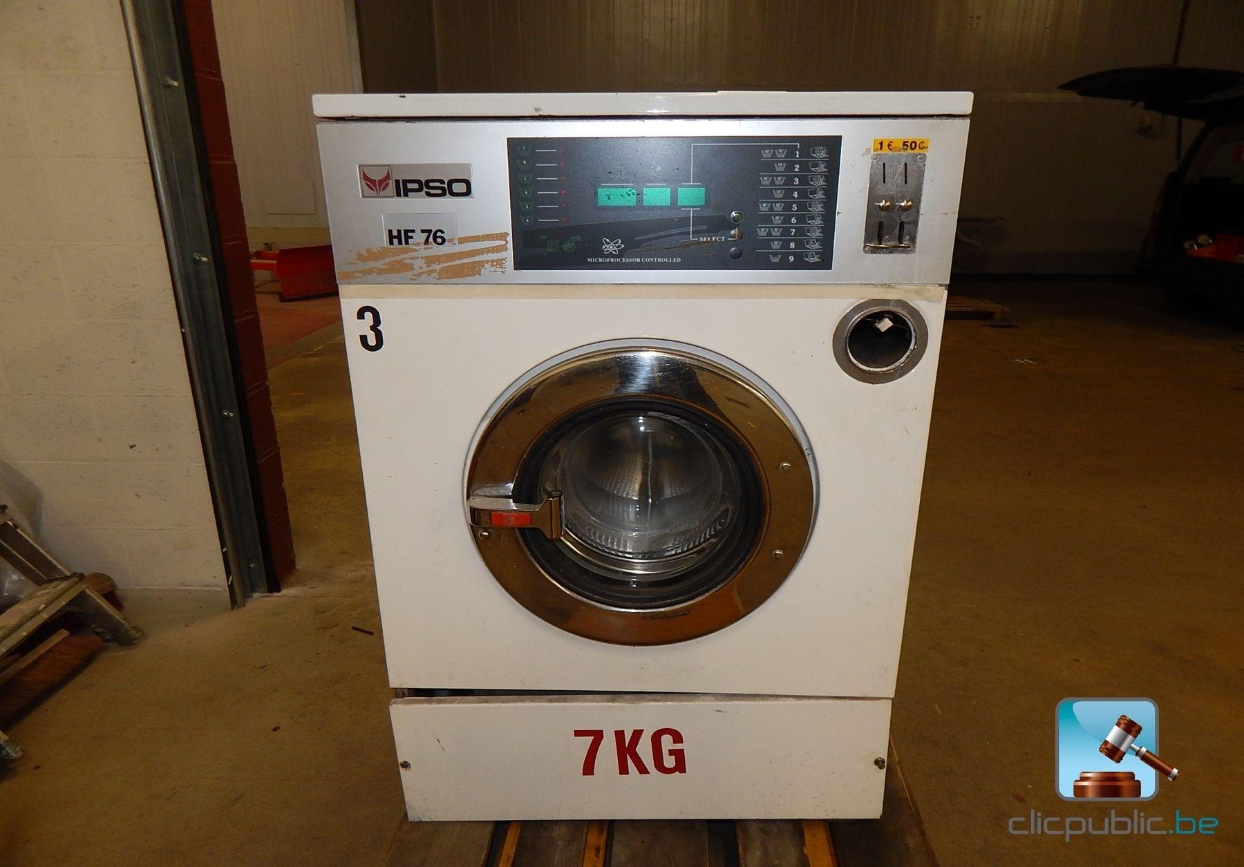 machine laver ipso hf76 avec monnayeur vendre sur. Black Bedroom Furniture Sets. Home Design Ideas