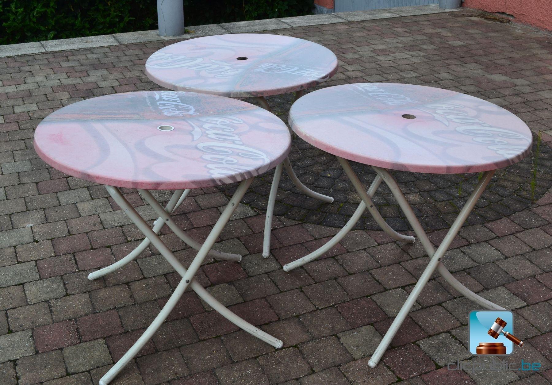 Tables pliantes vendre sur - Tables rondes pliantes ...