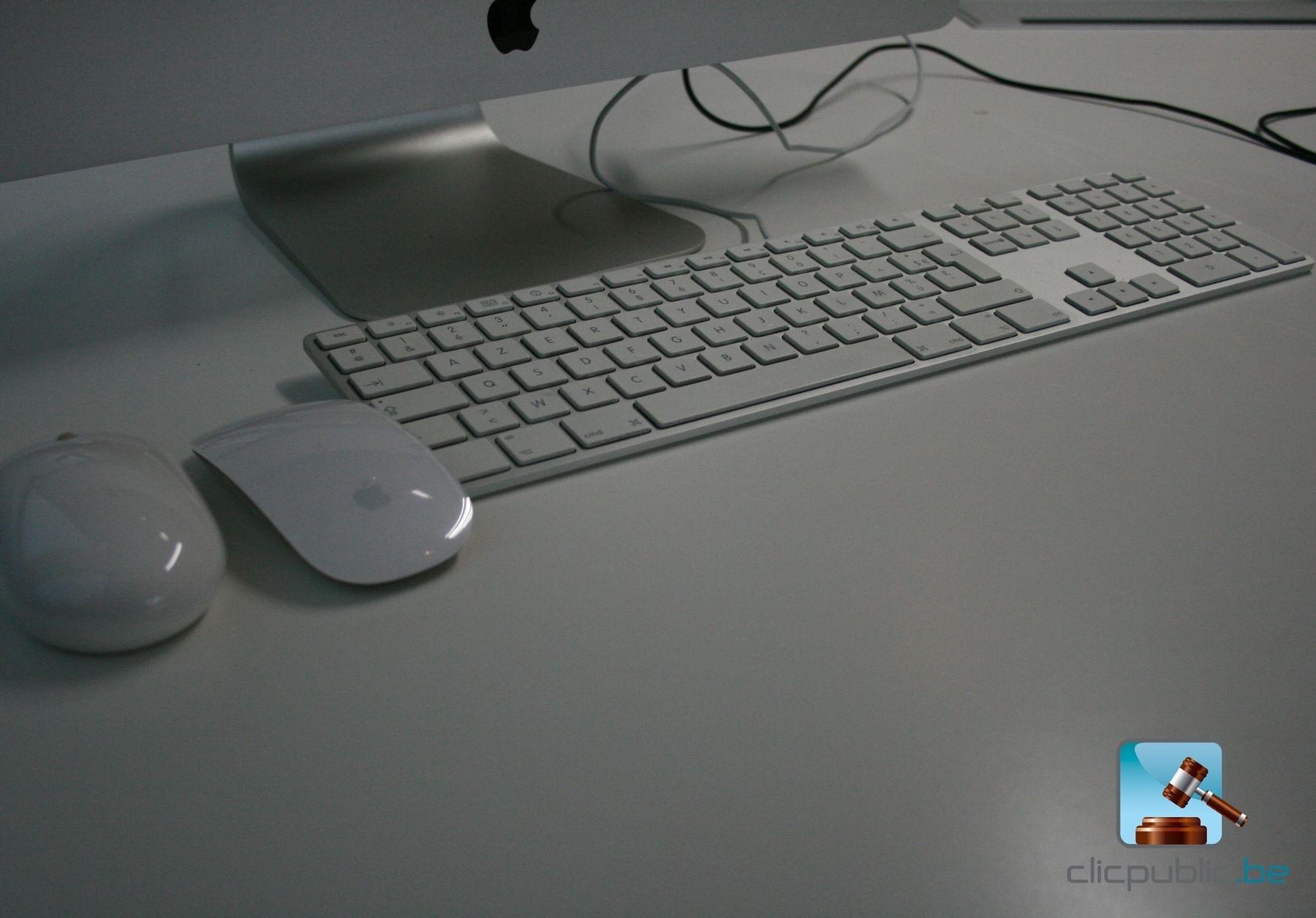 ordinateur de bureau apple imac 21 5 ref 56 vendre sur. Black Bedroom Furniture Sets. Home Design Ideas