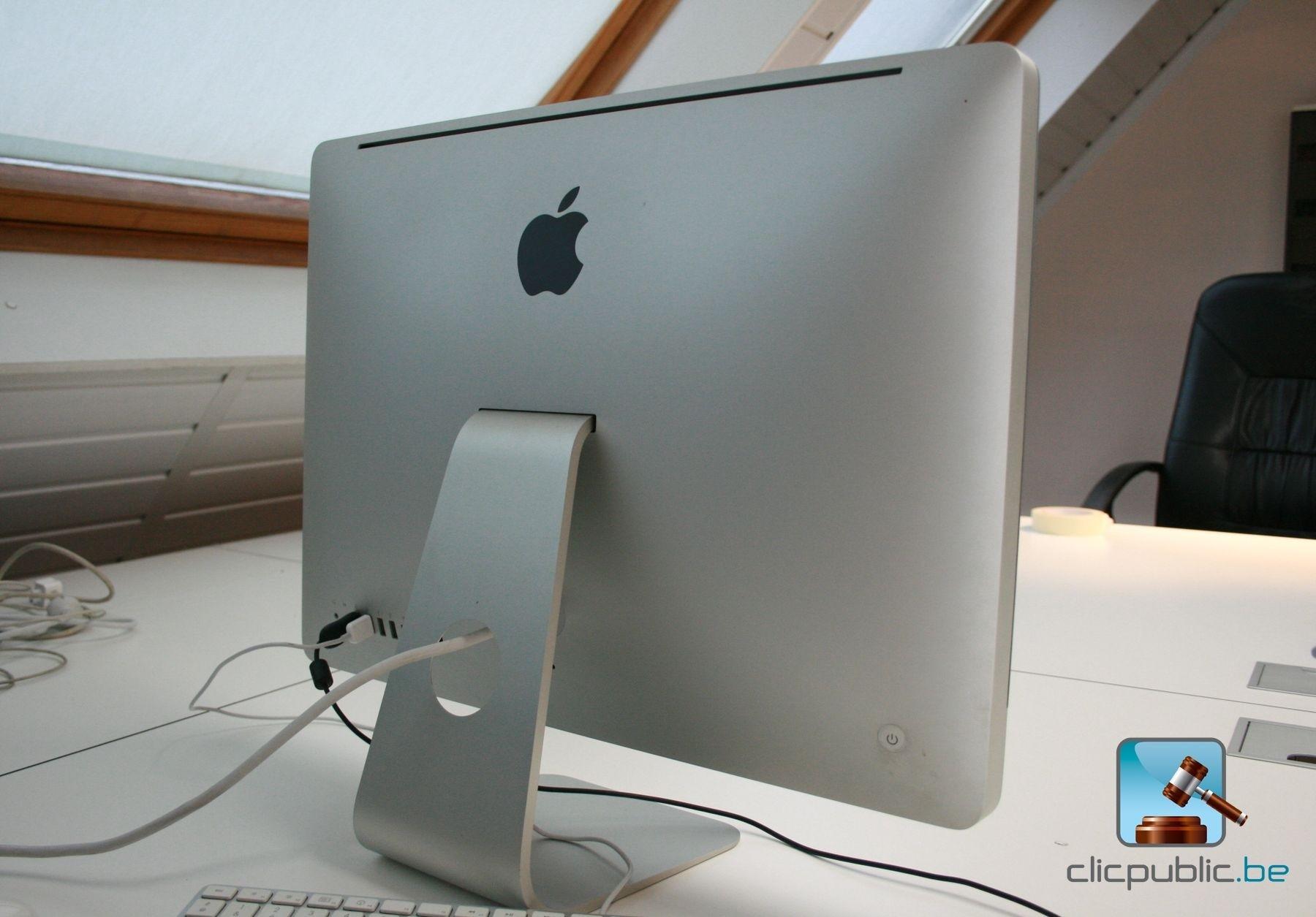 ordinateur de bureau apple imac 21 5 ref 56 vendre. Black Bedroom Furniture Sets. Home Design Ideas