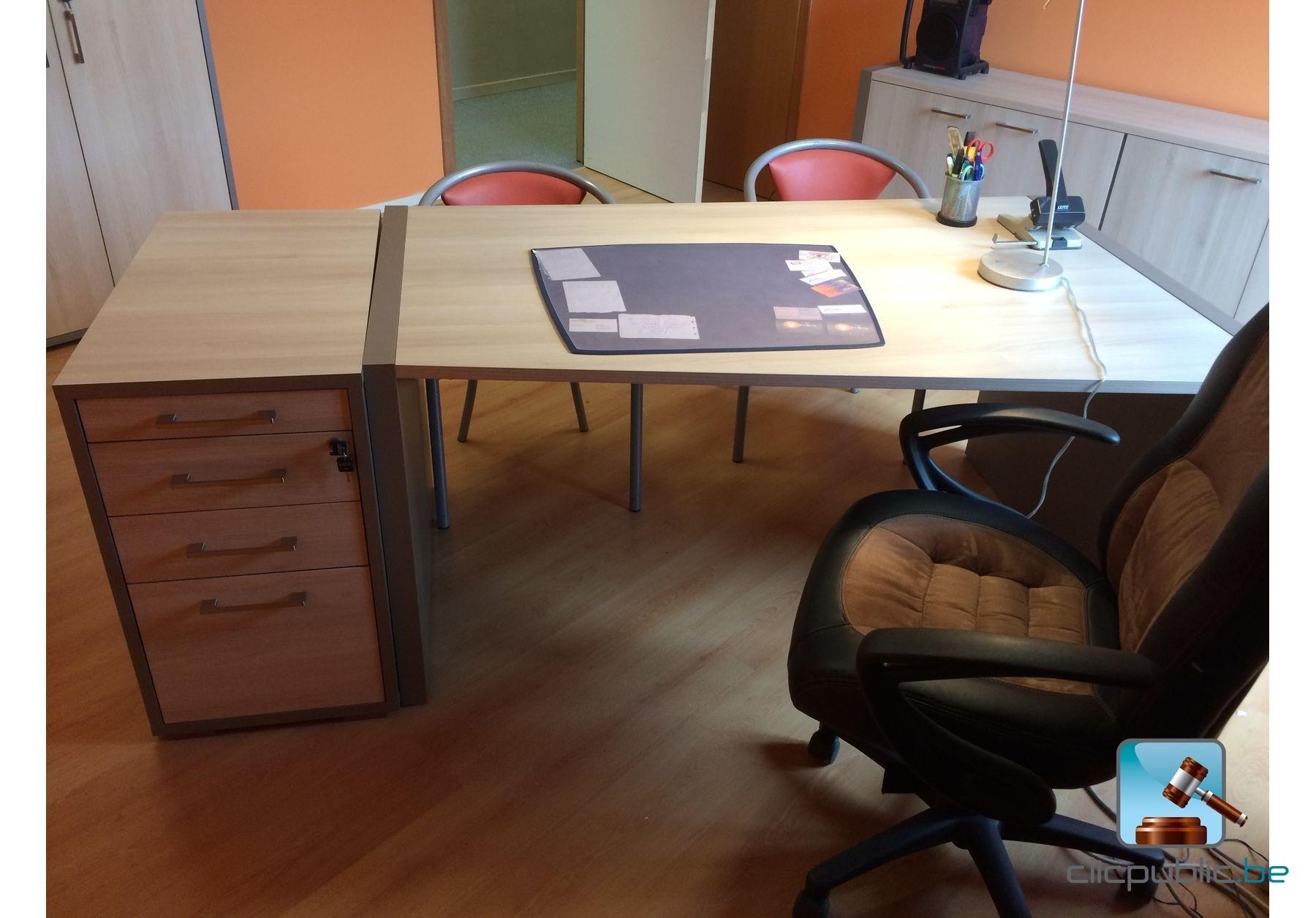 Mobilier de bureau en bois m lamin ref 5 vendre sur for Mobilier bureau 44